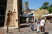 australia, sydney, the rocks area, sunday market