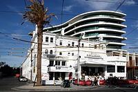 australia, melbourne, explanade hotel oggi caffè