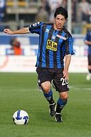 jaime andres valdes,bergamo 02_11_2008,serie a football championship 2008_2009,photo guido zucchi/markanews