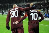 roberto stellone and alessandro rosina,torino 23_11_2008 ,serie a football championship 2008_2009 ,torino_milan 2_2 ,photo giuliano marchisciano/marka...