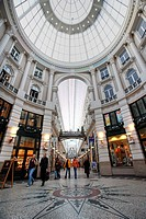 NLD, The Netherlands. The Hague: historic shopping mall De Passage