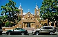 Cathedral of Albuquerque, New Mexico, USA, America