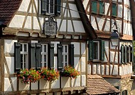 Birthplace of Friedrich SCHILLER, Marbach am Neckar, Baden-Wuerttemberg, Germany
