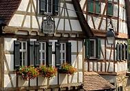 Birthplace of Friedrich SCHILLER, Marbach am Neckar, Baden-Wuerttemberg, Germany