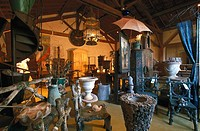 Antiques Shop, Isle de la Sorge, Provence, France