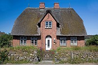 Traditional friesian building, Keitum, Sylt, Germany