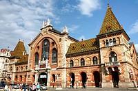 The Big Market Hall, Nagyvßsßrosarnok, Budapest, Hungary