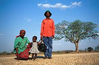 Family Portrait near Swasiland, South Africa