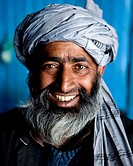 amazing closeup portrait of a man in kashmir