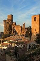 Castle, La Iruela. Sierra de Cazorla, Segura and Las Villas Natural Park, Jaen province, Andalucia, Spain