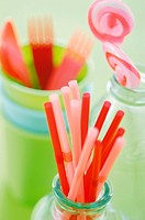 Straws and Candies