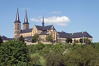 Former convent St. Michael on the Michaelsberg, Bamberg, Bavaria, Germany