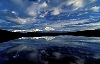Reflection Pond with Mount McKinley in Denali National Park, Alaska, USA