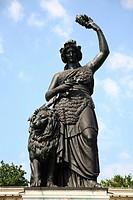 Bavaria statue, Munich, Bavaria, Germany