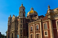 Low angle view of a cathedral, Basilica De Guadelupe, Mexico City, Mexico (thumbnail)
