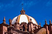 Low angle view of a cathedral, Catedral De Zacatecas, Zacatecas, Mexico