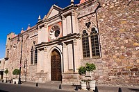 Facade of a church, Aguascalientes, Mexico (thumbnail)