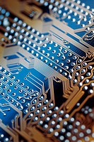 Close_up of a circuit board