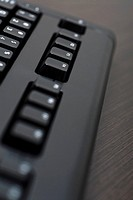 Close_up of a computer keyboard