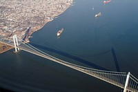Verazanno Narrows Bridge, NY, USA _ built 1964