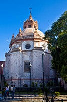 Low angle view of a church, Templo De San Diego, Aguascalientes, Mexico