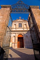 Low angle view of a church, Templo De La Cruz, Morelia, Michoacan State, Mexico