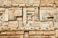 Palacio del Gobernador, governors palace, Maya archeological site Uxmal, Yucatan, Mexico