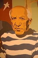 Catalan painter Pablo Picasso, Barcelona, Katalonien, Spanien, Europa