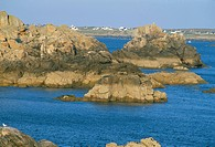 Pointe de Pern, Ile d´Ouessant, Breton Islands, Finistere, Brittany, France, Europe
