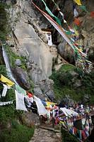 Taktshang Goemba Tiger´s Nest Monastery, Paro, Bhutan, Asia