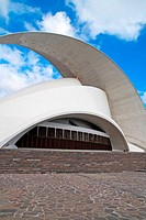 Auditorium by Santiago Calatrava, Santa Cruz de Tenerife, Tenerife. Canary Islands, Spain