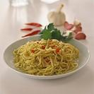 Tagliolini aglio e olio pasta with garlic, oil, chili, 3
