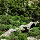 Turkish bridge, Kipi, Greece, Europe