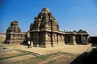 Hazara Rama temple, Hampi, Karnataka state, India, Asia