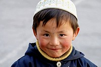 A Muslim boy,Xining,Qinghai,China