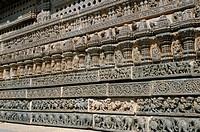 The 12th century Keshava temple, Mysore, Karnataka, India, Asia
