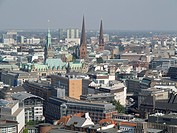 City center, Hamburg, Germany
