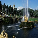 Fountains, Petrodvorets Peterhof, St. Petersburg, Russia, Europe
