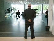 Stuttgart, DEU, 08.06.2006: The new municipal art museum Stuttgart. Das open concept requires high attention from the museum personnel.