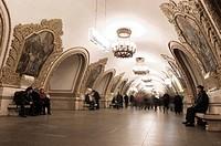 Kievskaya Metro Station, Moscow, Russia, Europe