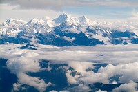 Himalaya view, Nepal, Asia