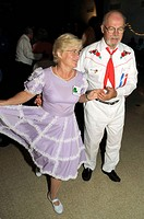 couple square dancing- Bowie, Maryland