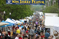 The annual Main Street Festival in Laurel, Maryland