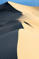 Dunes in the Death Valley. Death Valley N.P., California, USA
