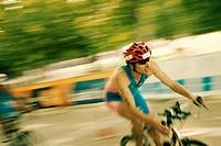 Campeonato de Triatlón. Prueba de CICLISMO. Masculino. Madrid ITU World Cup.