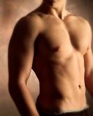 Naked man´s torso