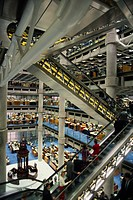 Lloyd´s Building, designed by Richard Rogers, City of London, London, England, United Kingdom, Europe
