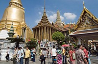 The Royal Palace, Bangkok, Thailand, Southeast Asia, Asia