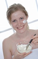 Beauty recipe _ curd mask with honey