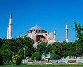 St. Sophia Mosque, UNESCO World Heritage Site, Istanbul, Turkey, Europe